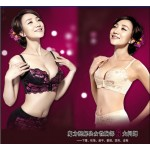 Eve show quite magic generation of breast underwear sexy bra gather bra