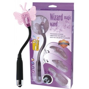 Wizard Magic Wand (Clitoris, Vagina & Anal Vibrator)
